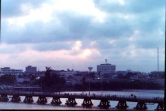Sunset Over Cotonou