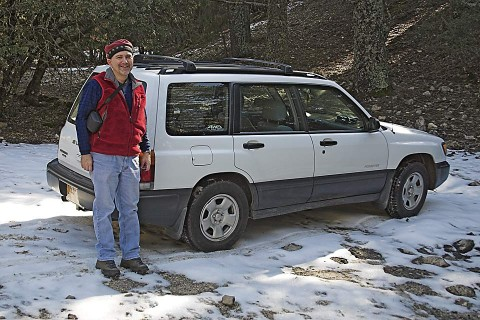 John and 4-wheel drive Subaru.
