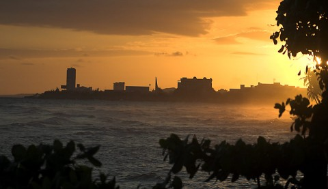 Malecon_Sunset_2