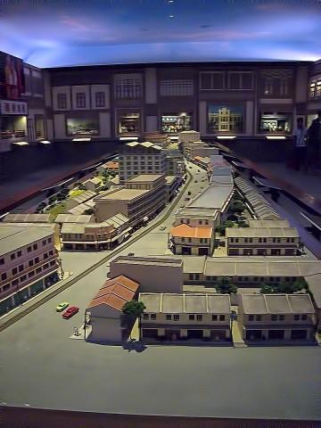 Wat Traimit Chinatown Exhibit