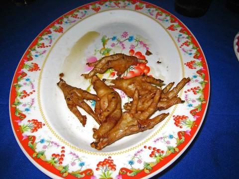 Deep Fried Chicken Feet