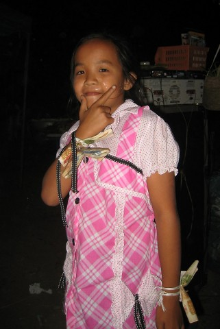 Laos Birthday Girl