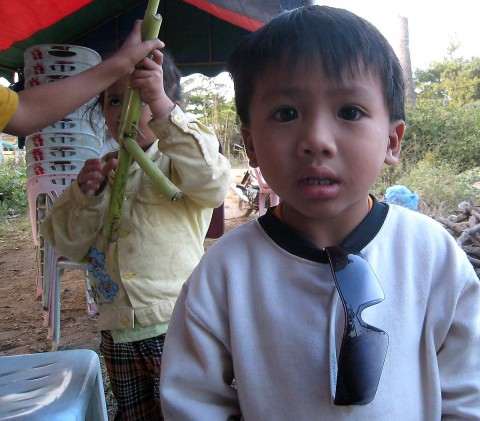 Cute Lao Kid