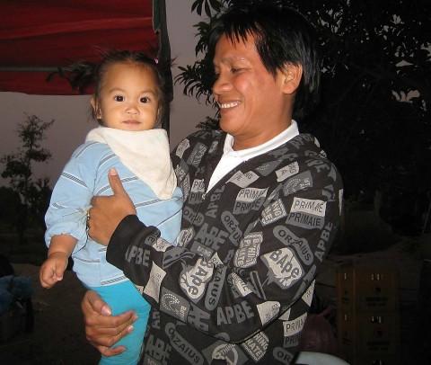 Nai with baby