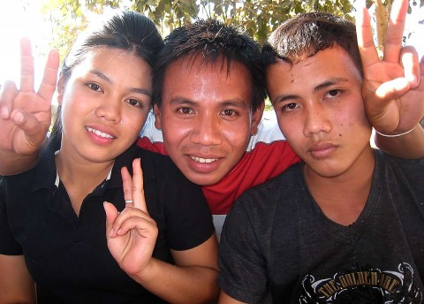 Laos friends