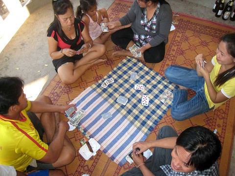Laos card game