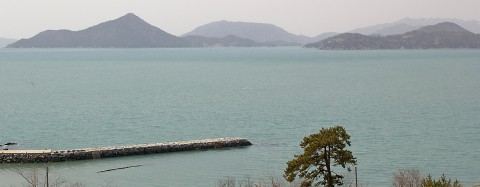South coast of Yeosu Peninsula