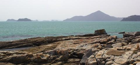 Jang-deung Beach view