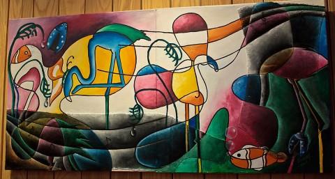 Angola Pavilion Restaurant  Painting
