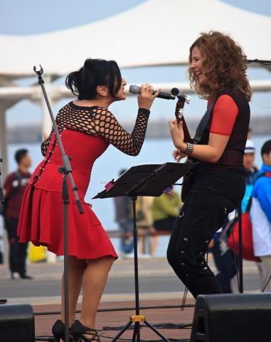 Mavi Diaz and Pampi Torre