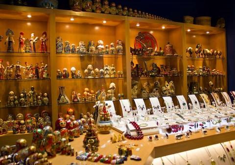 Russia Pavilion Souvenir Shop