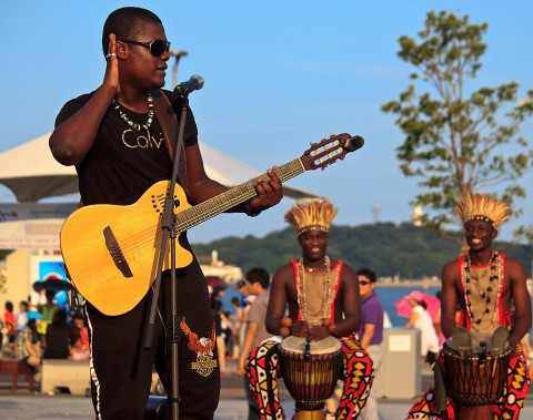 Angola singer