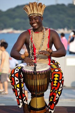 Angola drummer