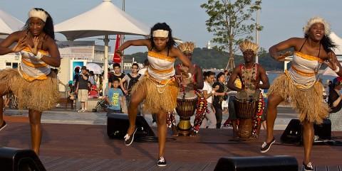 Angola dancers