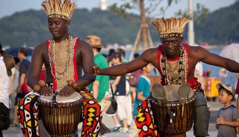 Angola drummers