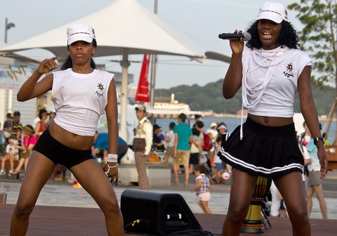 Angola singer and dancer