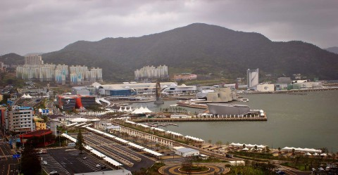 The Yeosu Expo site on August 28, 2012