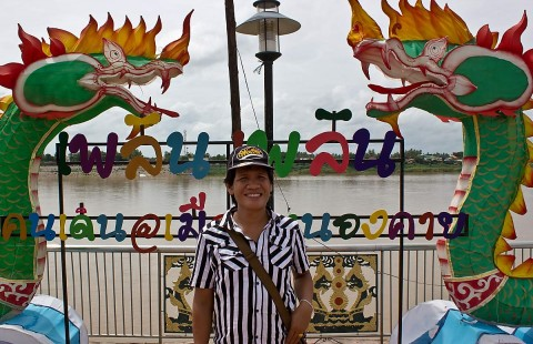 Nai at Nongkhai river park