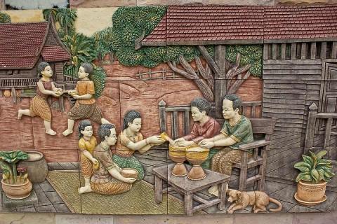Nongkhai mural