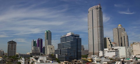 Panoramic of Silom area