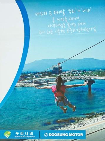 Zip line poster