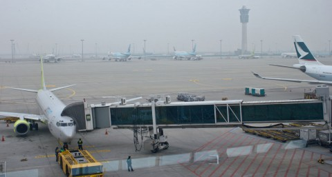 Incheon Airport smog
