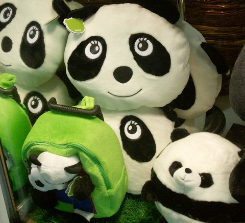 Stuffed panda bears