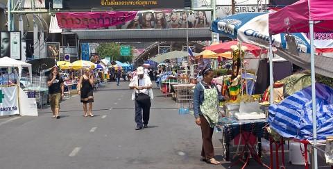 Siam protest site