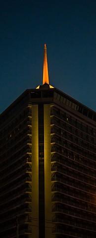 Dusit Thani Hotel spire