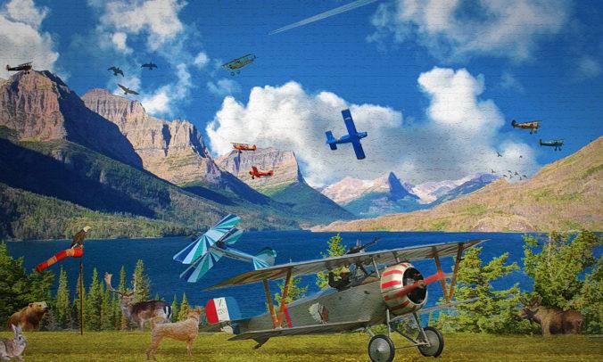 Air Show digital art