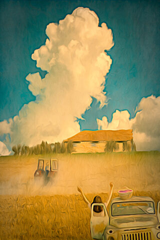 On the Farm digital art